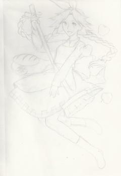 Sound Horizon Girl - School Doodle