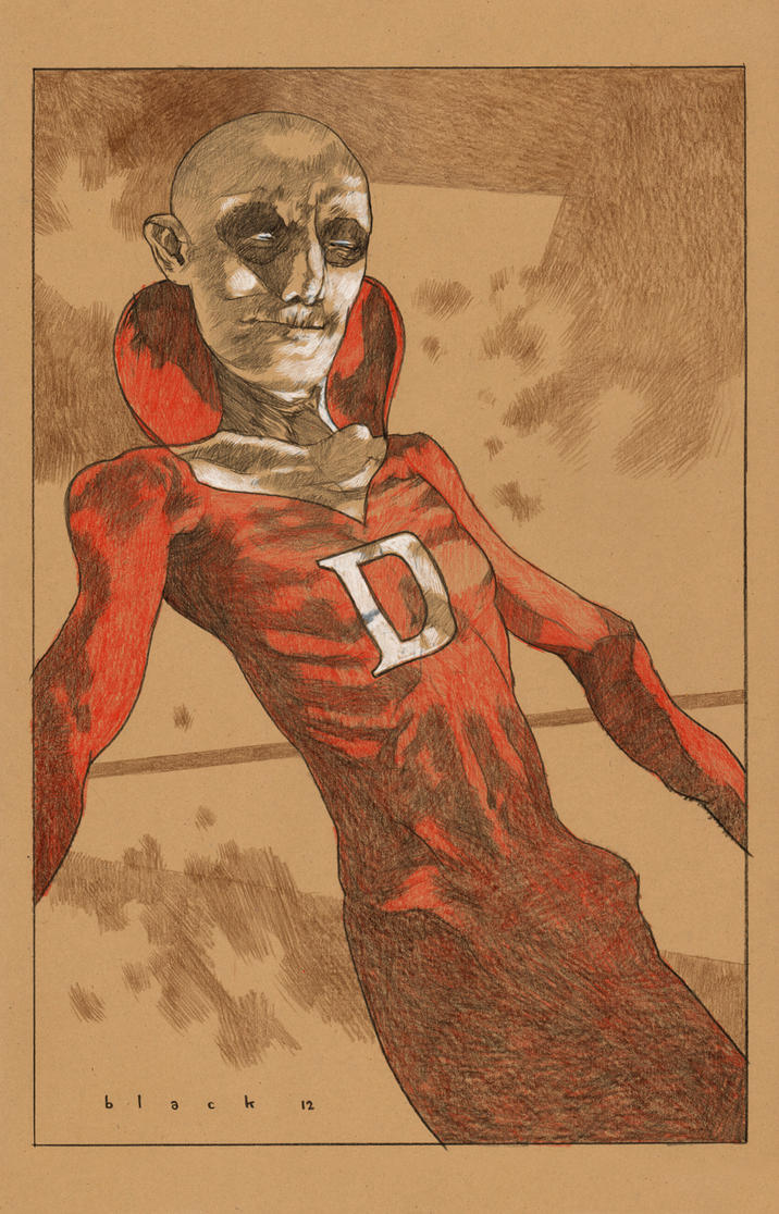 Deadman drawing by stevenrussellblack