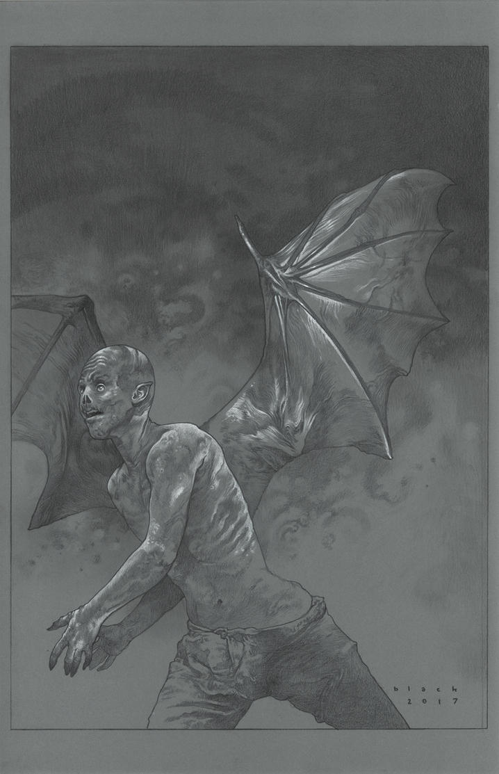 Homo Chiroptera by stevenrussellblack