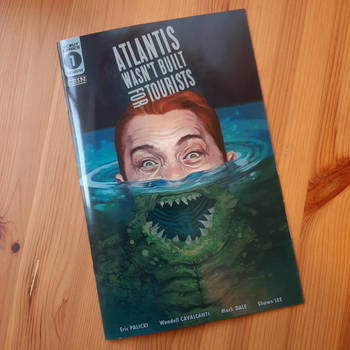 Atlantis Wasn't Built for Tourists Variant Cover 1