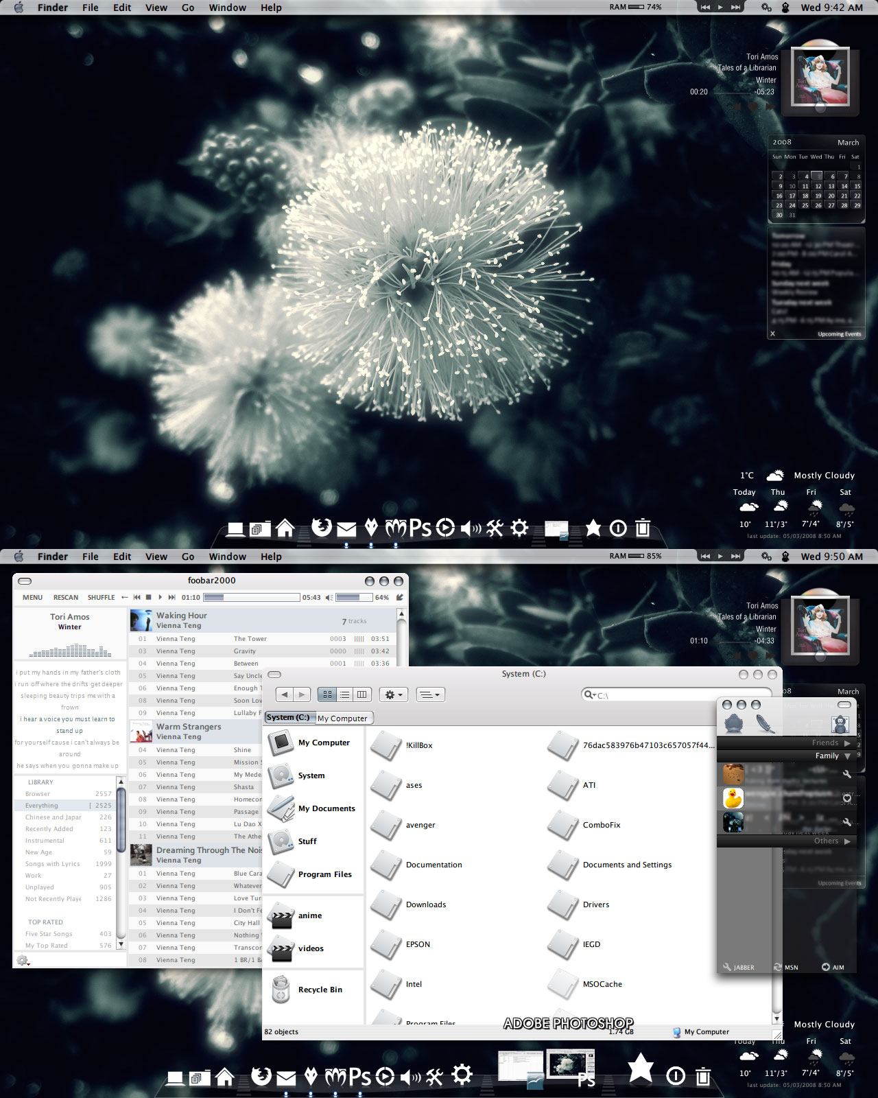 Desktop, 5 March 2008 by chocolatemuffins