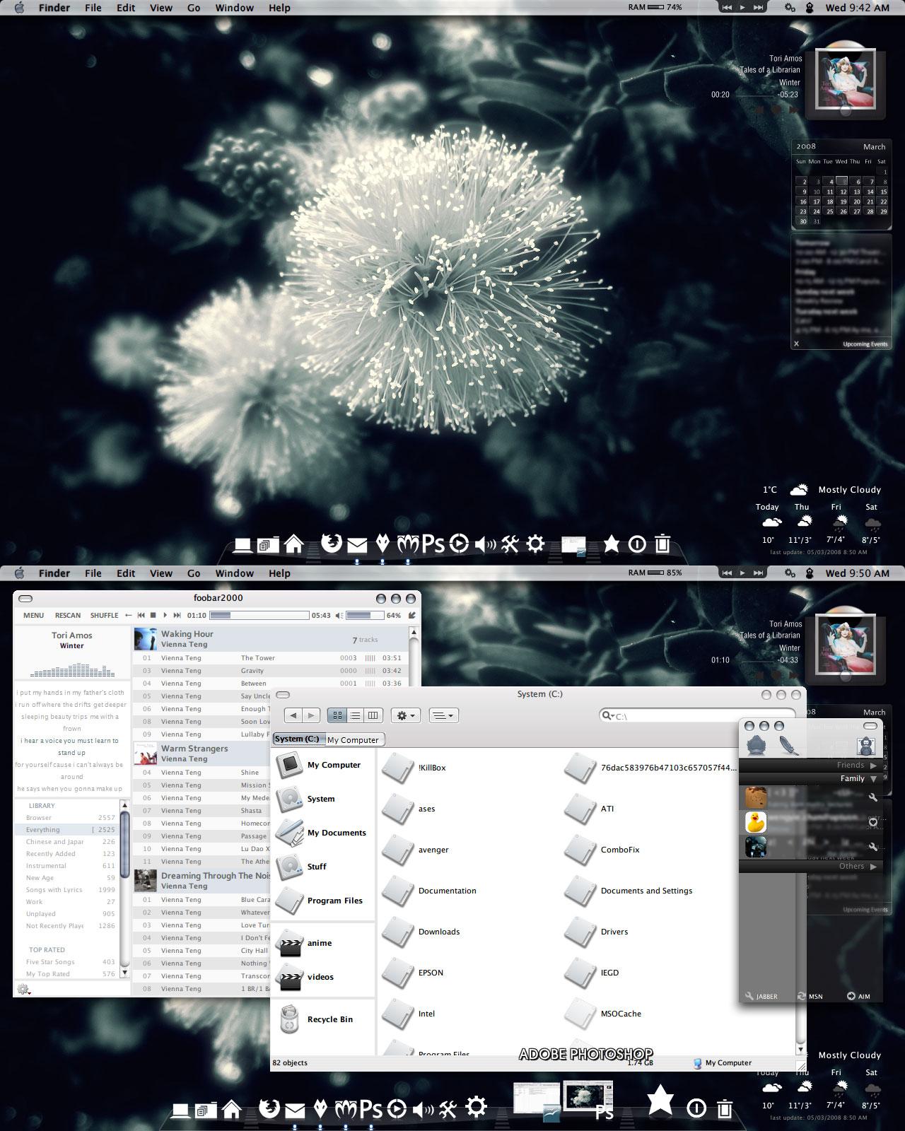Desktop, 5 March 2008 by chocolatemuffins