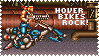 Contra P1 Hover Bike Stamp by Neo-Zander