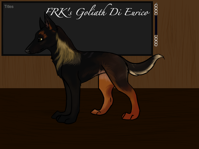 FRK's Goliath Di Eurico by ninjastarhate