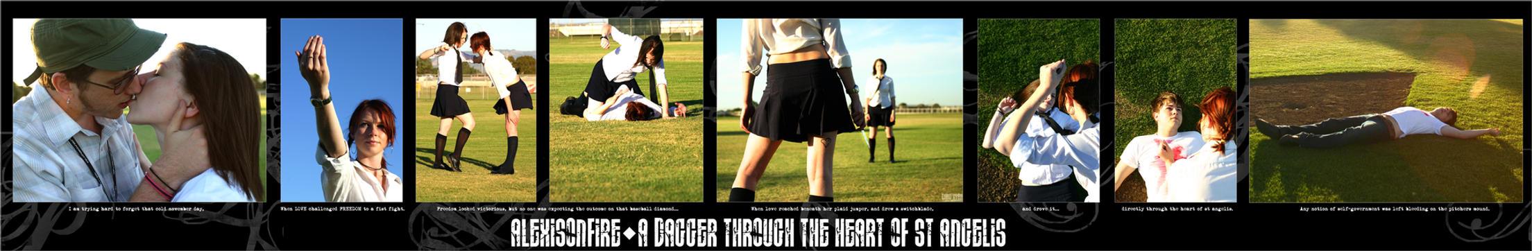 dagger thru the heart SERIES by toe2toe