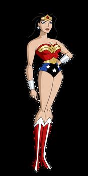 Wonder Woman by SpiedyFan