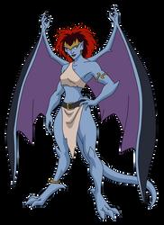 Demona by SpiedyFan