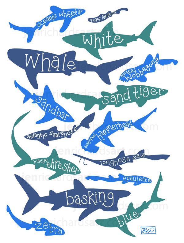SHARKS! by odontocete