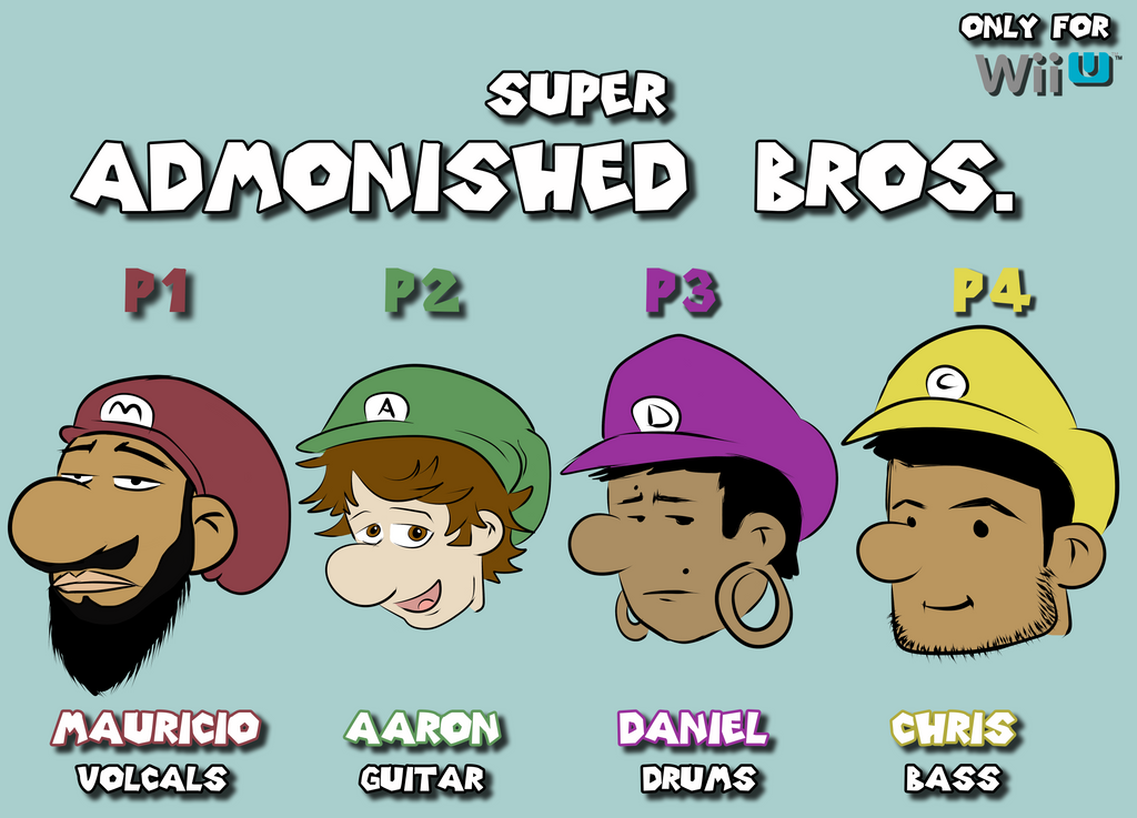 Super Admonished Bros. by CalvertSheik