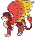 (Closed!) Fluffy lion-dragon OTA