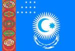 All Turkic Union Flag