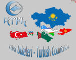 Turkish Countries - Turk Ulkeleri
