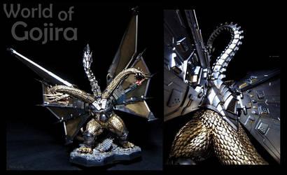 Mecha King Ghidora by WoGzilla
