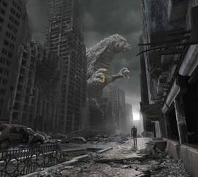 Fallout and Godzilla by WoGzilla
