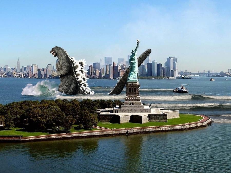 Resultado de imagen para godzilla new york