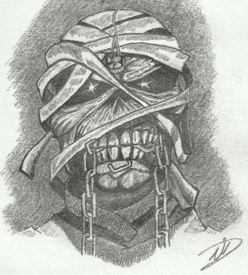 iron maiden mummy by nduxy