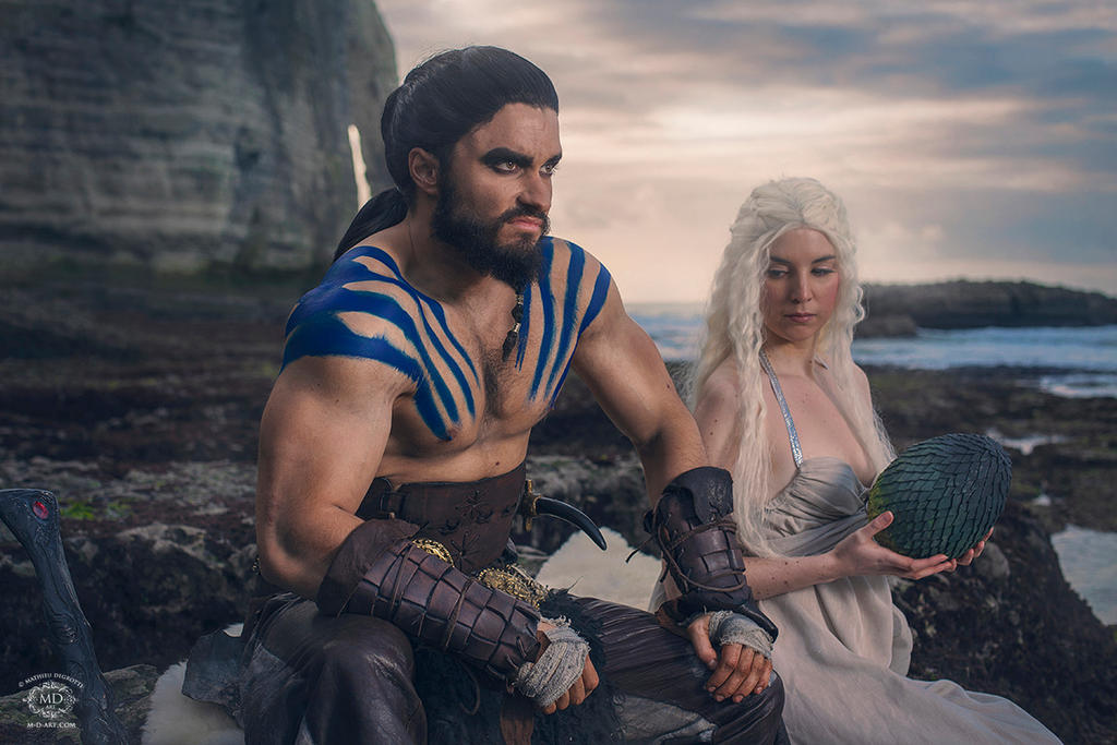 Cosplay of Khal Drogo ...