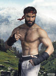 Cosplay of Ryu from SFV