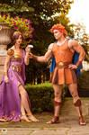 Disney cosplayers