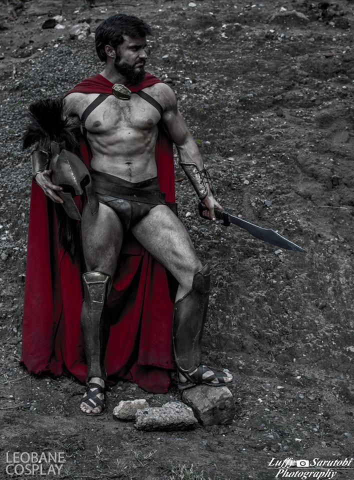 Leonidas cosplayer by LEOBANECOSPLAY