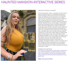 HAUNTED MANSION- INTERACTIVE SERIES