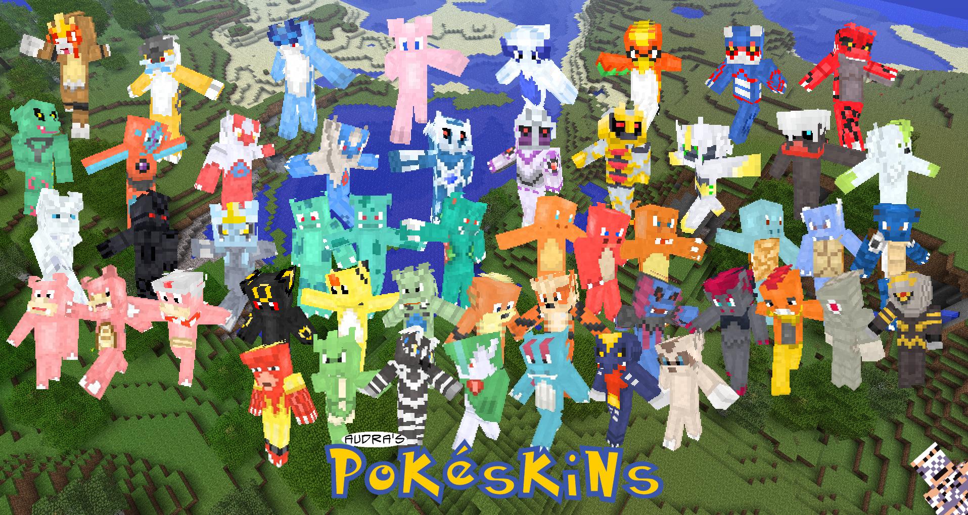 .:: Pokeskins ::. by DarkShinyCharizard