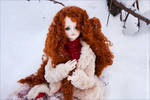 Mary Magdalene in Russian snow by rezoly1310