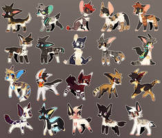 Lots a Fluff pt.3 [Adopts-Open] by goatlet