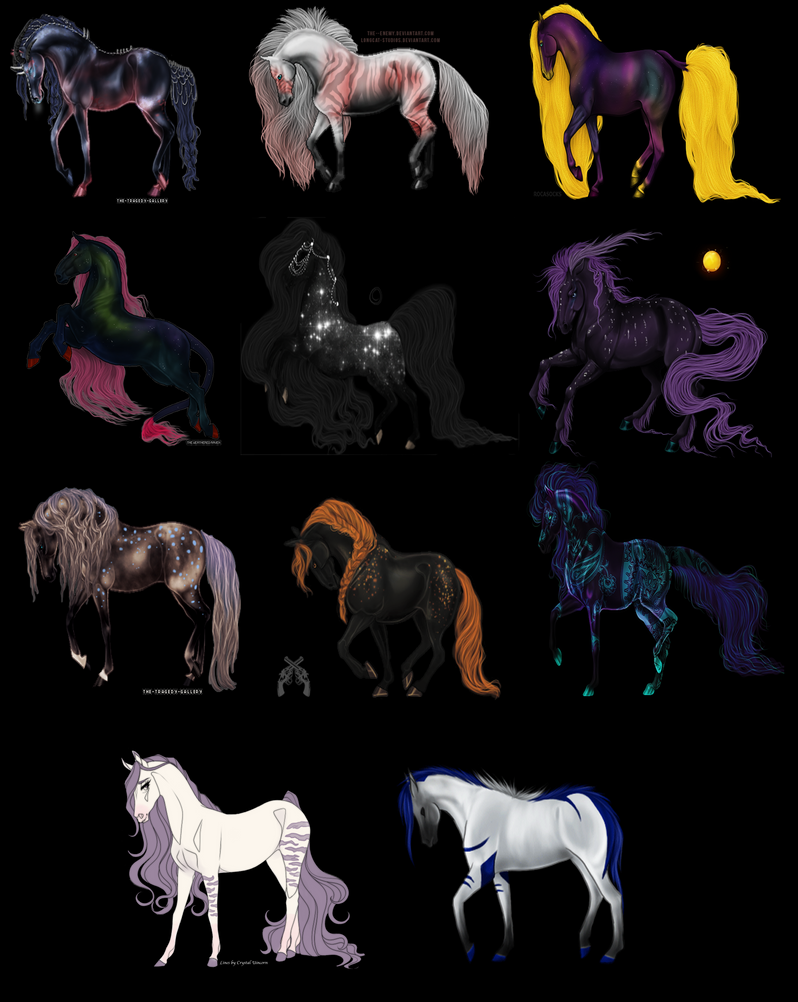Random set of Adopts by ShadowMare098