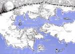 HP Lovecraft dreamland map