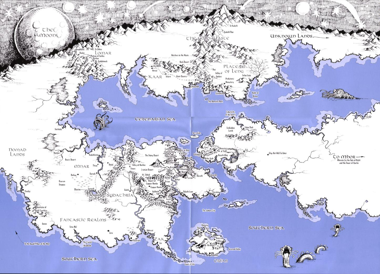 map of middle earth tolkien with hp lovecraft dreamland map 85492041 on 439116 middle earth a
