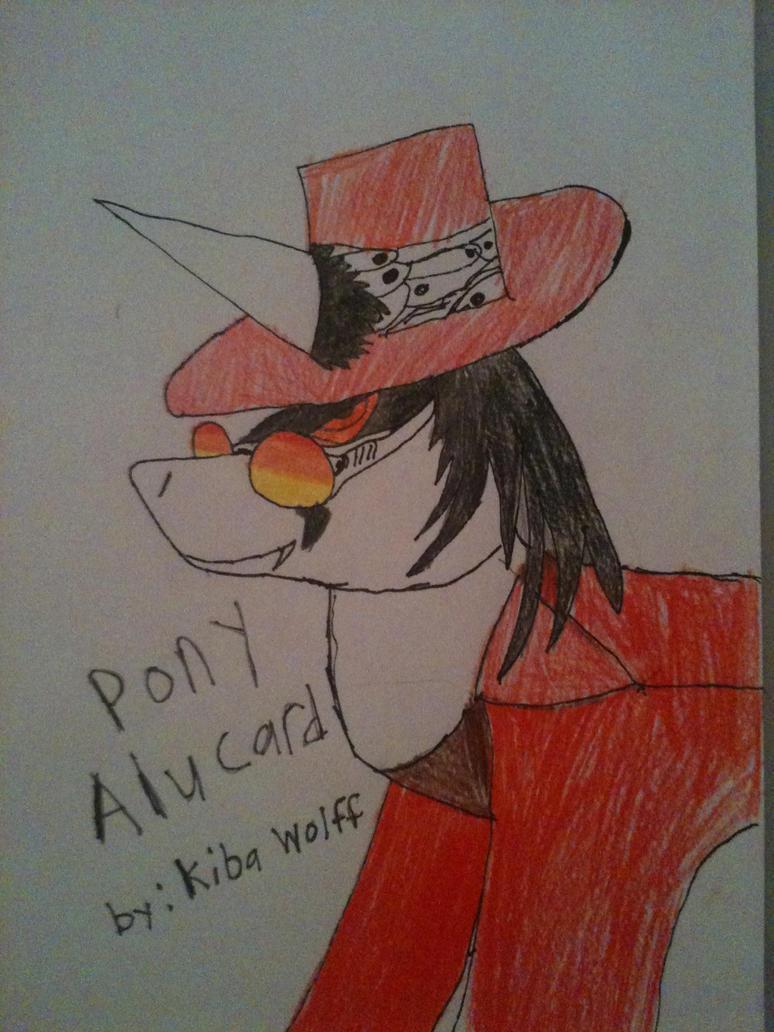 Pony Alucard by furguylover