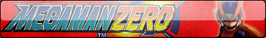 Mega Man Zero Fan Button