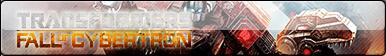 Transformers Fall Of Cybertron Fan Button