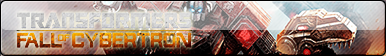 Transformers Fall Of Cybertron Fan Button by DecadeX10