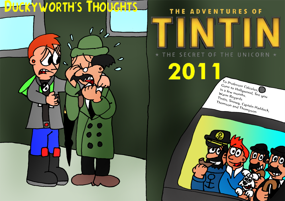 DT8-The Adventures Of Tintin:Secret of the Unicorn by Duckyworth