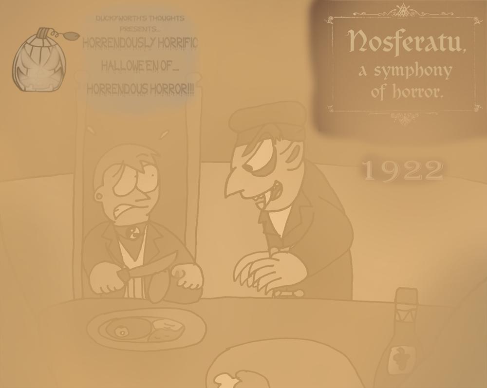DT 17 - Nosferatu (1922) by Duckyworth