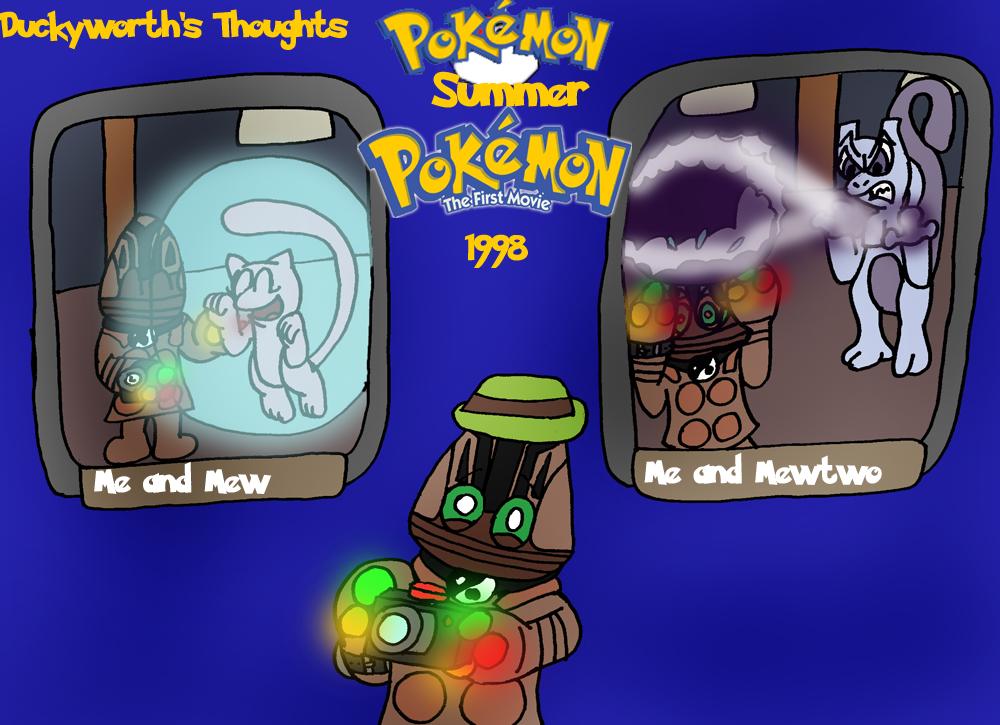Dt 73 Pokemon The First Movie By Duckyworth On Deviantart