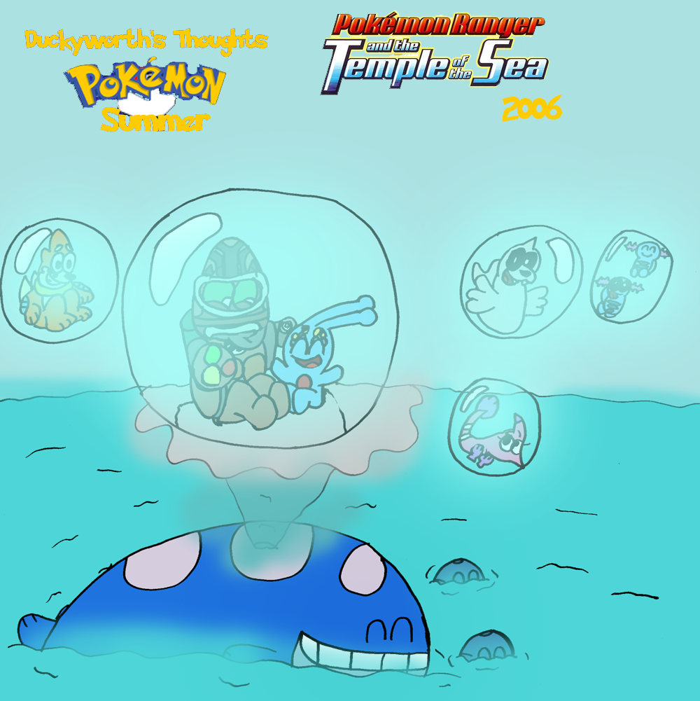 Dt 81 Pokemon Ranger And The Temple Of The Sea By Duckyworth On