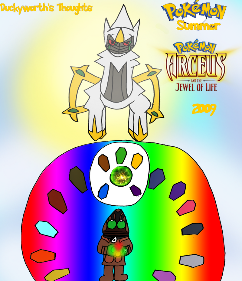 Dt Pokemon Arceus And The Jewel Of Life 2009 By Duckyworth On