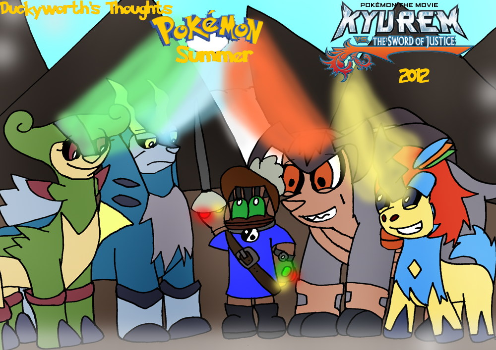 Dt 87 Pokemon Kyurem Vs The Sword Of Justice By Duckyworth On