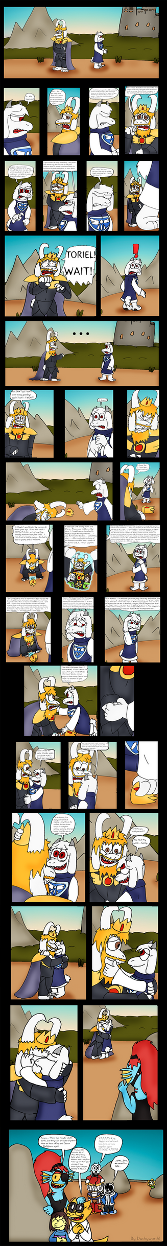 undertale how to get toriel to kill you