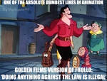 One Of The Dumbest Lines In Animation History