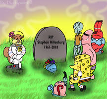 RIP Stephen Hillenburg by Duckyworth
