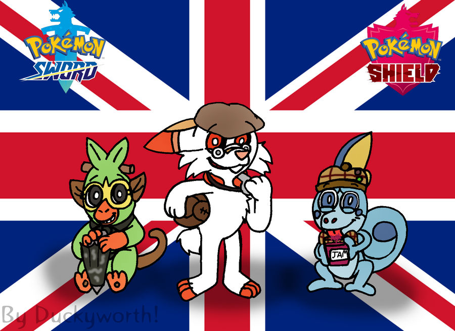 Ello Guv Nor Pokemon Sword Shield Starters By Duckyworth On Deviantart