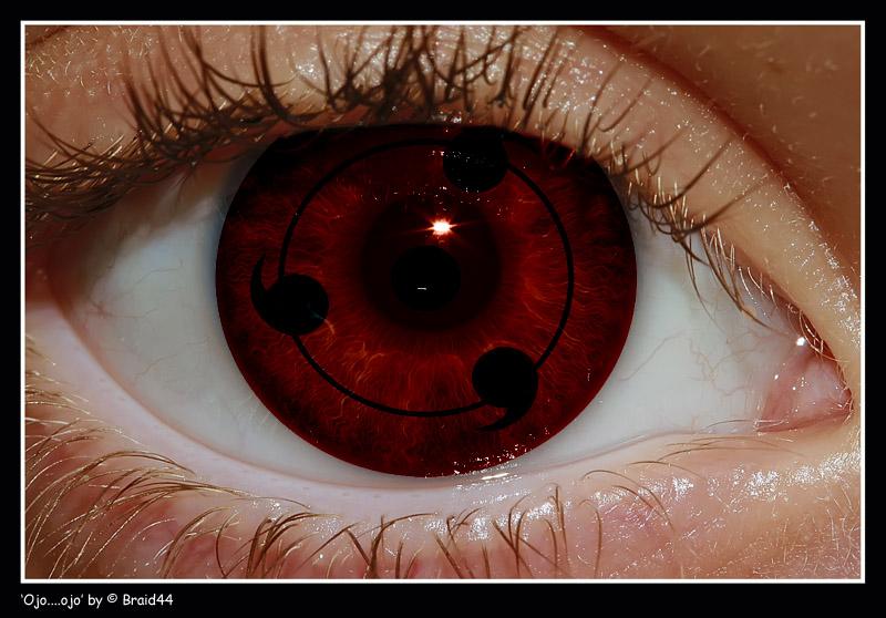 Real Sharingan Eye Contacts My human sharingan eye by