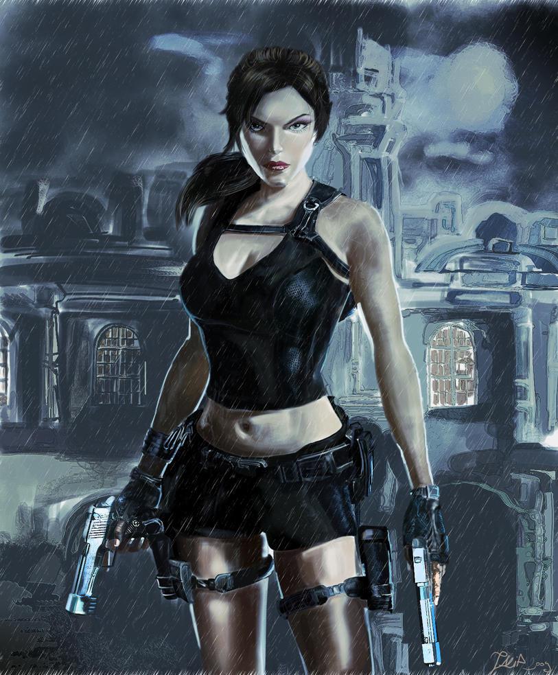 Tomb Rider Wallpaper: Lara Croft Tomb Raider By Talipsisman On DeviantART