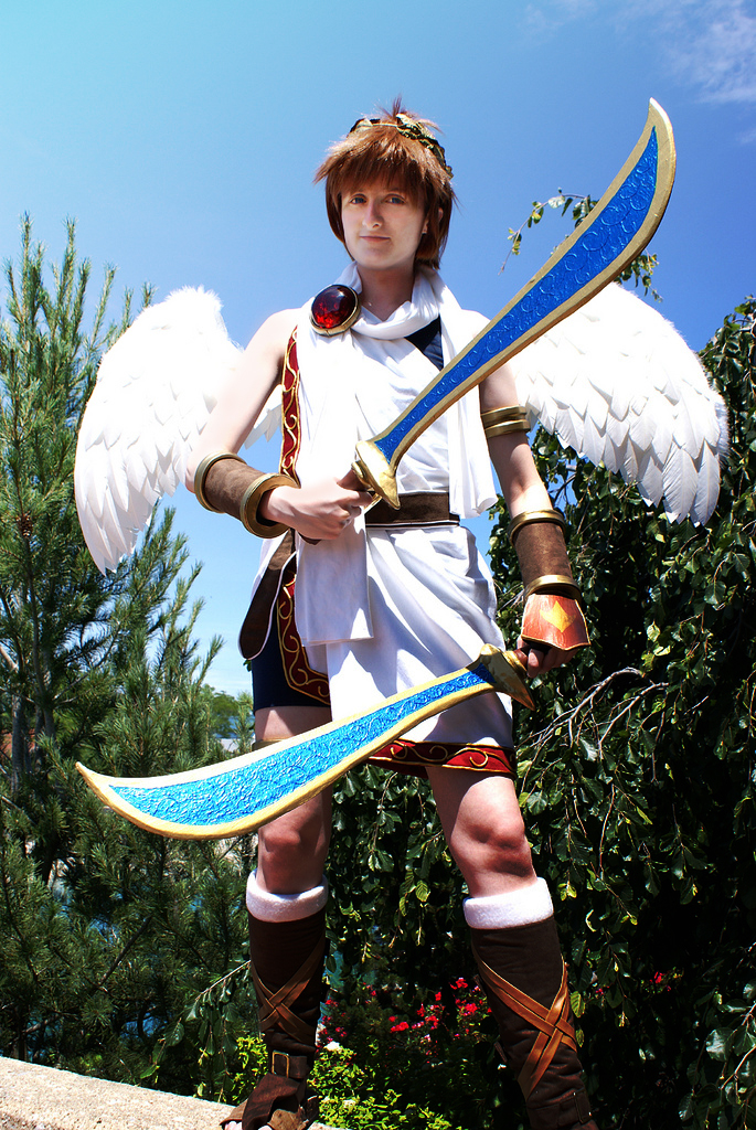 Kid Icarus Palutenas Warrior By August Fehrmont