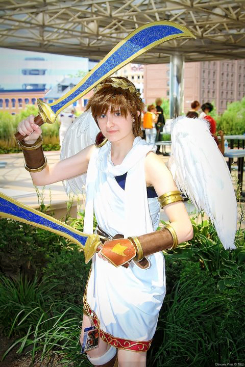 Kid Icarus: Double Daggers by august-fehrmont