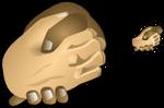 Hands Shaking Icon Artwork